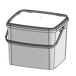 SuperCube Rectangular 277 x 242 mm 10,9 ltr - 6109