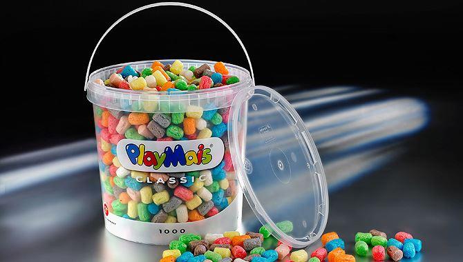 Plastic pails boost craft kit sales