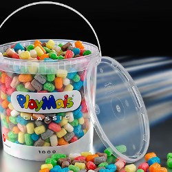 Plastic pails boost craft kit sales