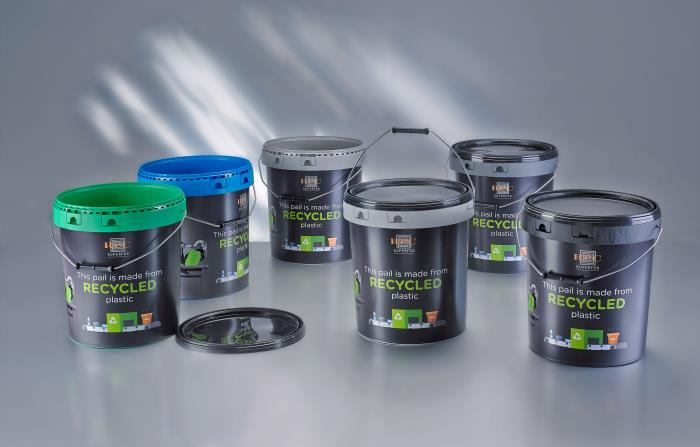 Top-quality PCR pails provide sustainable solutions
