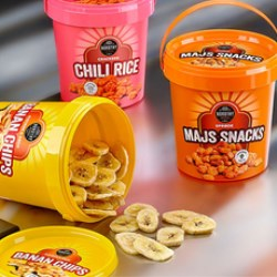 UniPak pails work a treat for new snacks from Nordthy